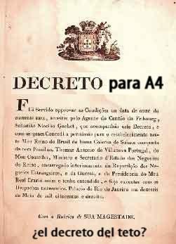 APROBADO EL DECRETO DE CUERPO A4